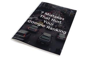 SEO Mistakes That hurt Your Google Ranking