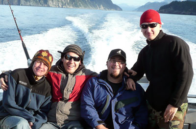NWDS staff on fishing day