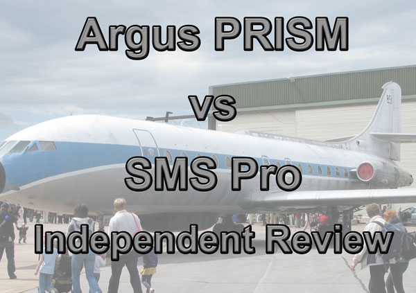 Safety manager review of SMS Pro and Argus Prism safety management database software