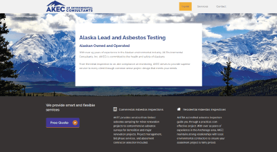Alaska Lead and Asbestos Testing Website