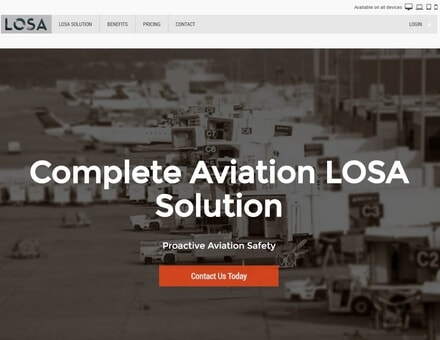 Alaska Website Design Work - LOSA for aviation service providers