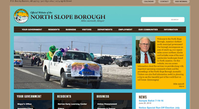 Project procurement application for North Slope Borough