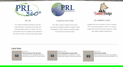 Database application design for PRL Logistics