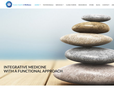 Alaska Website Design Sample Website - Anchorage Alternative Medicine